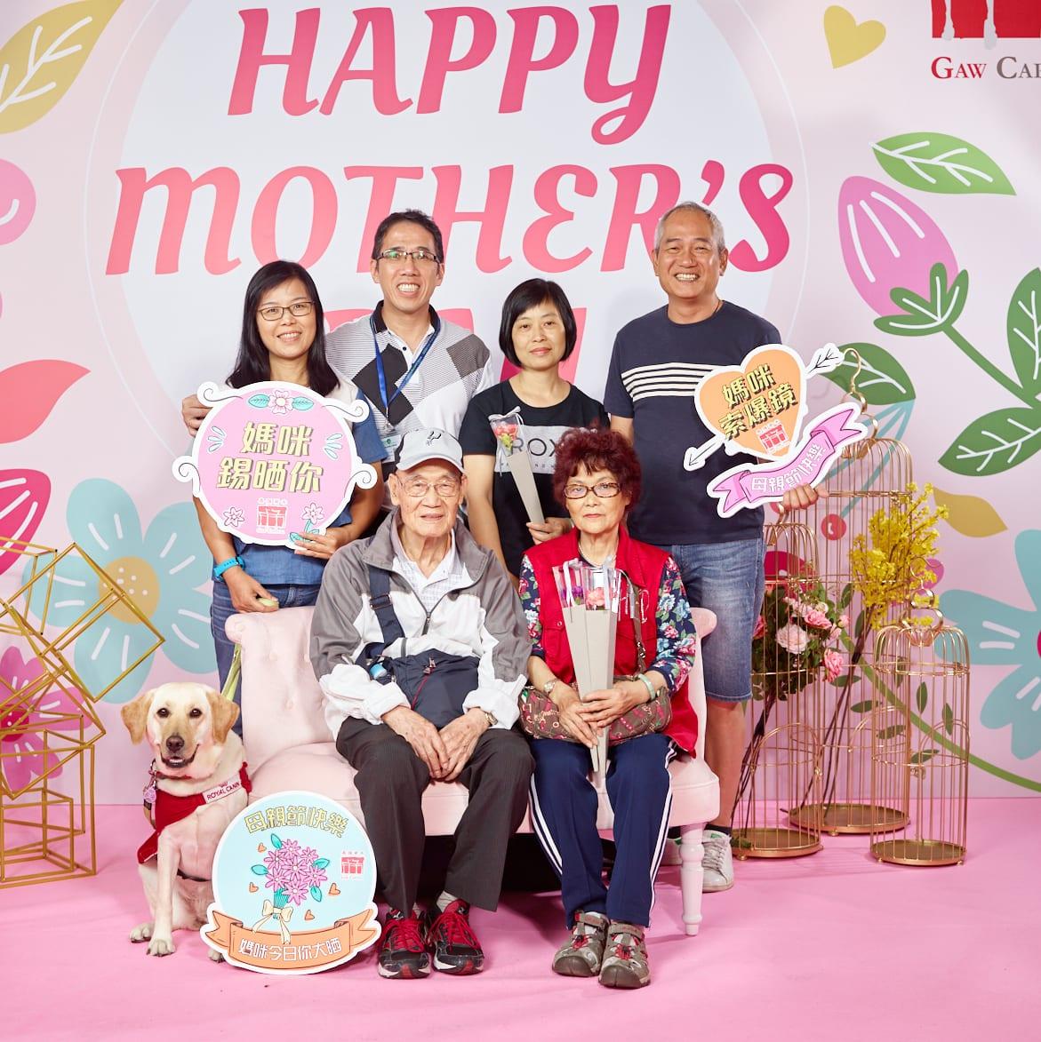 馨花頌讚母親節