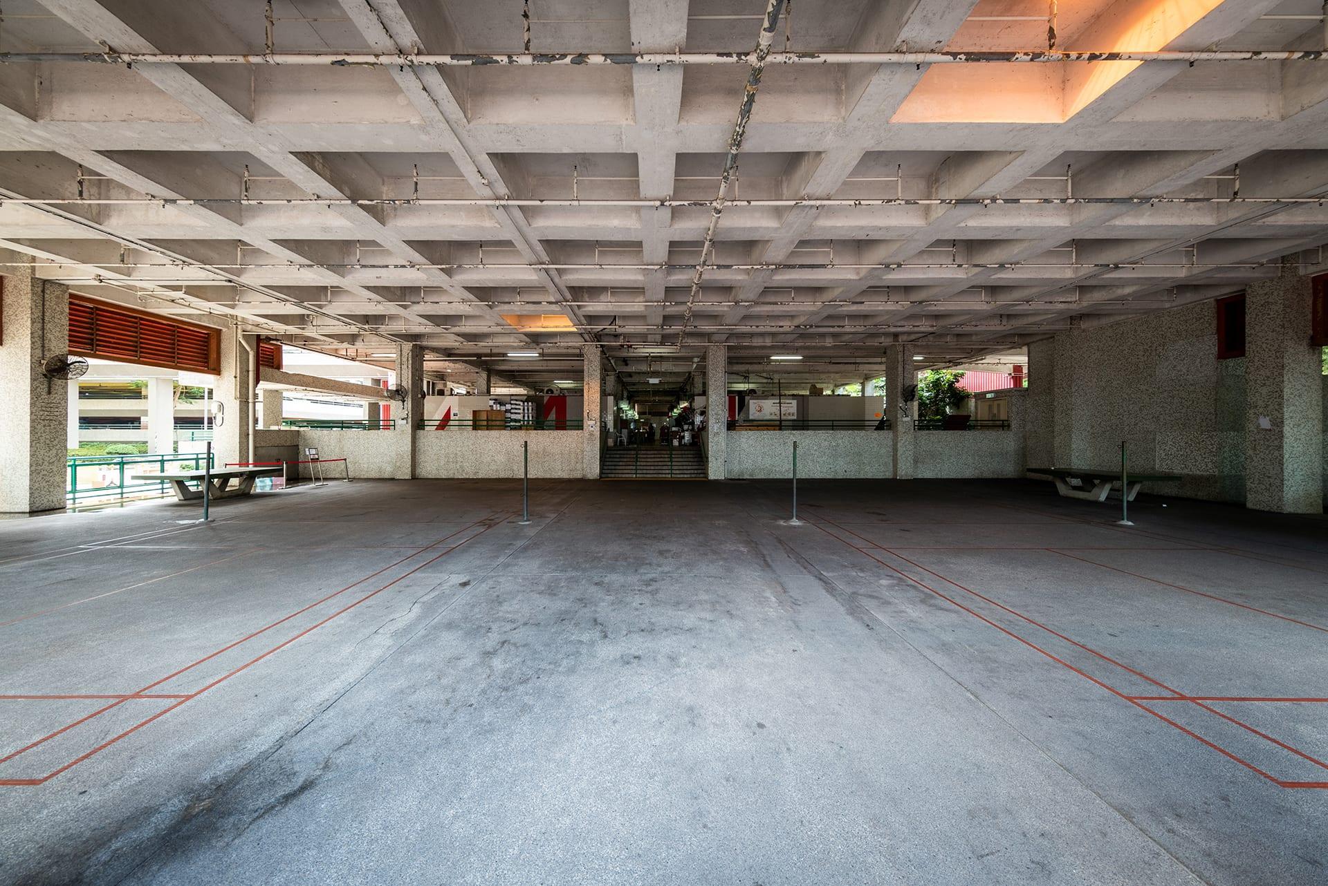 Before-Siu Hei Indoor Court 1