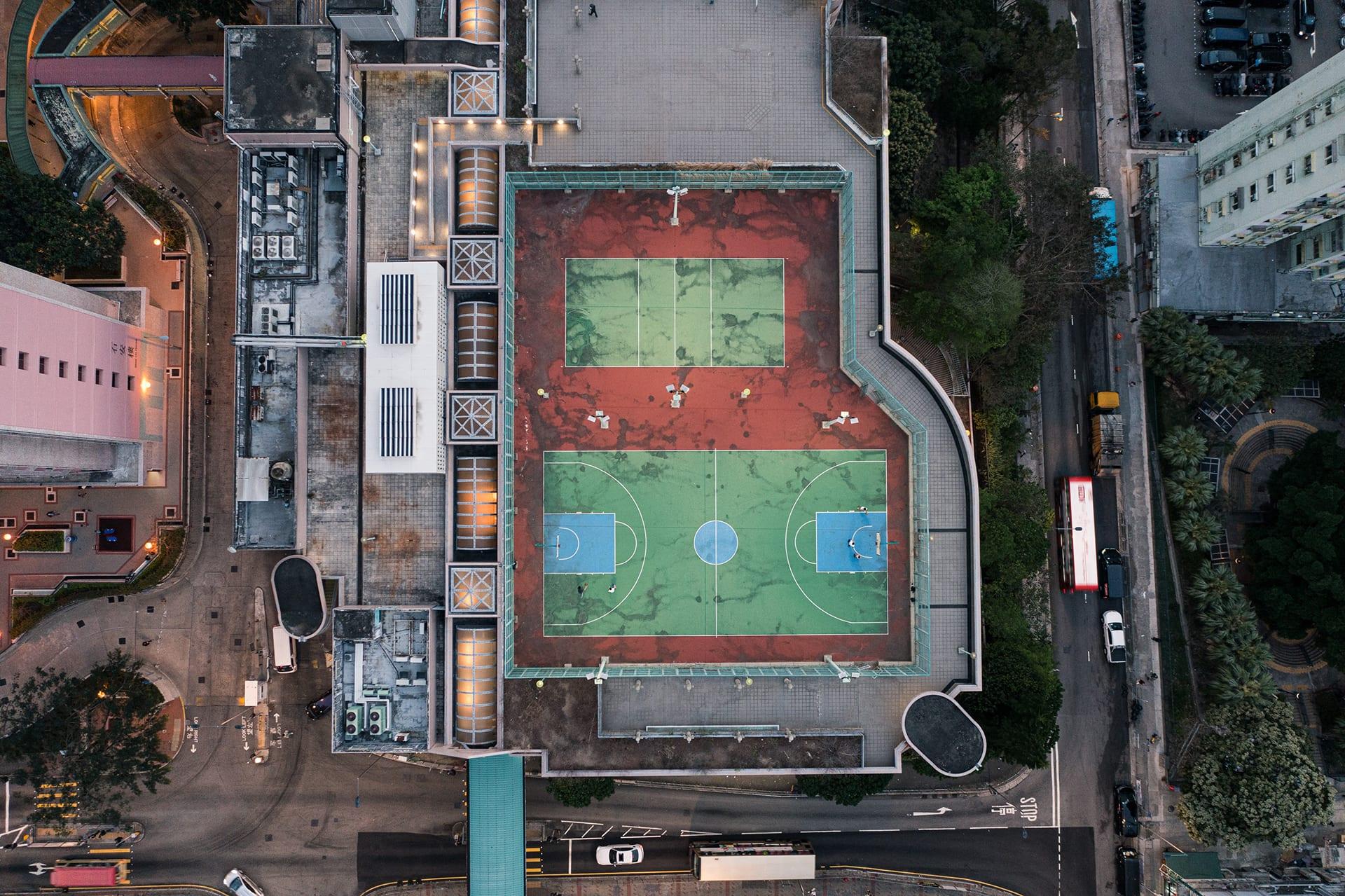 Before-Shek Lei Grind Court